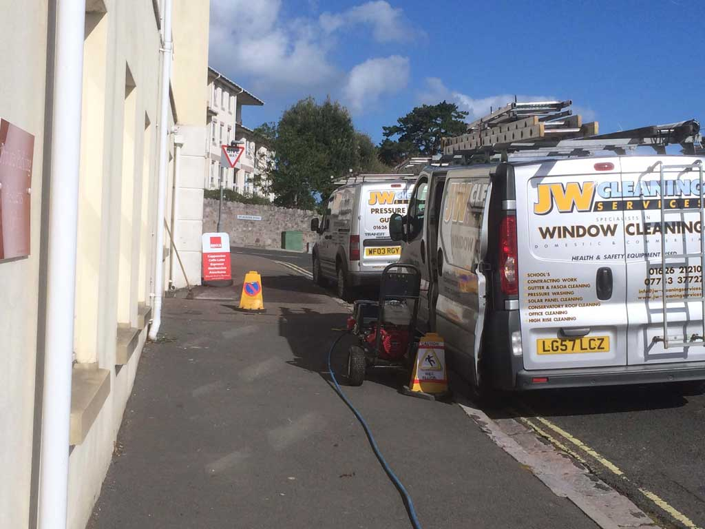 pressure washing cleaning services, newton abbot - Devon