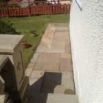 Patio pressure washed in Torquay