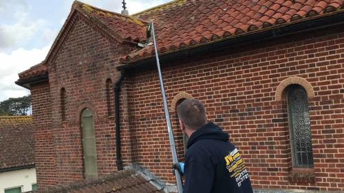 Church Gutter Cleaning Services