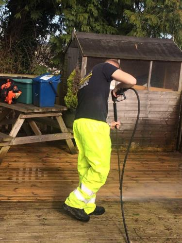 Wooden Decking Cleaning Services - Newton Abbot