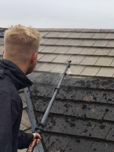 Pitched Roof Cleaning Services Newton Abbot