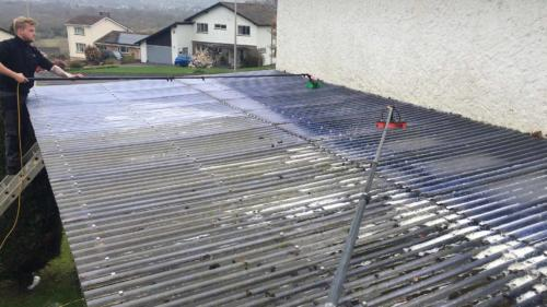 Car Port Roof Washing Service