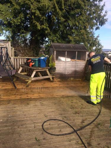 Decking Cleaning Service
