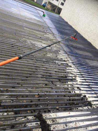 Flat Roof Cleaning Service