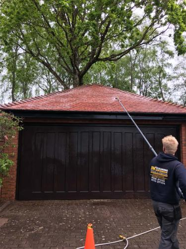 Garage Roof Cleaning Service